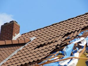 types of claims - roof damage